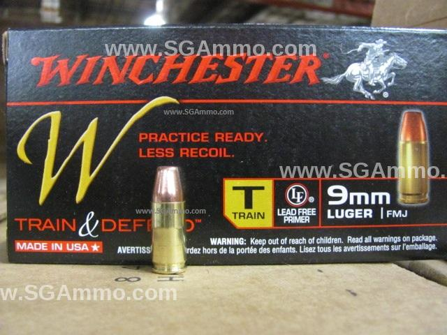 500 Winchester 9mm 500 Round Case 9mm Luger 147